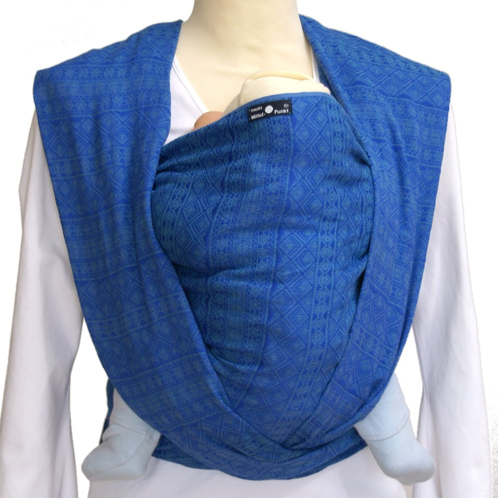 Didymos Echarpe Porte-b/éb/é Indio Bleu Ultramarin Taille 3