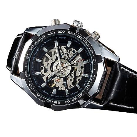 Unbekannt Reloj de pulsera reloj de pared Reloj Digital reloj automático de lujo transparente esfera karnevalskontor
