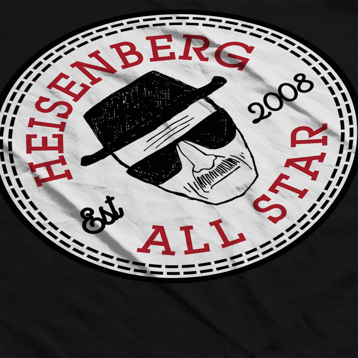 Breaking Bad Heisenberg All Star Converse Logo