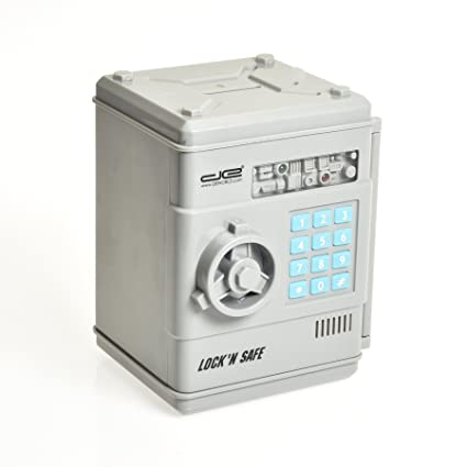 35b80d2e2bbf Amazon.com: Intelligent Voice Mini Safe and Coin Vault for Kids with ...