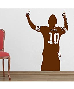 DecorVilla PVC Vinyl Messi Wall Sticker and Decal (50 x 73cm)