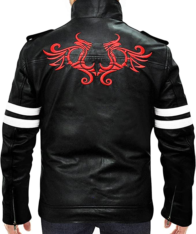 Alex Mercer Prototype Jacket in Black Leather