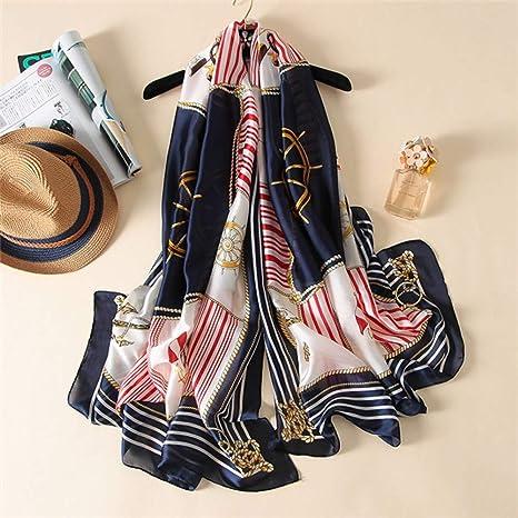 HCJZ Pañuelos Bufanda De La Mujer Moda De España Bufandas De La Señora Imprimir Envolturas Y Chales,11: Amazon.es: Deportes y aire libre