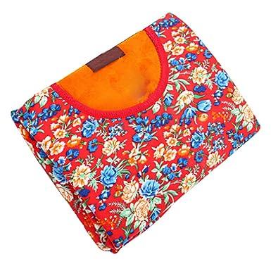 schön und charmant für die ganze Familie günstig kaufen KINDOYO Herren bunt Blumen Unterwäsche Set Winter Langarm ...
