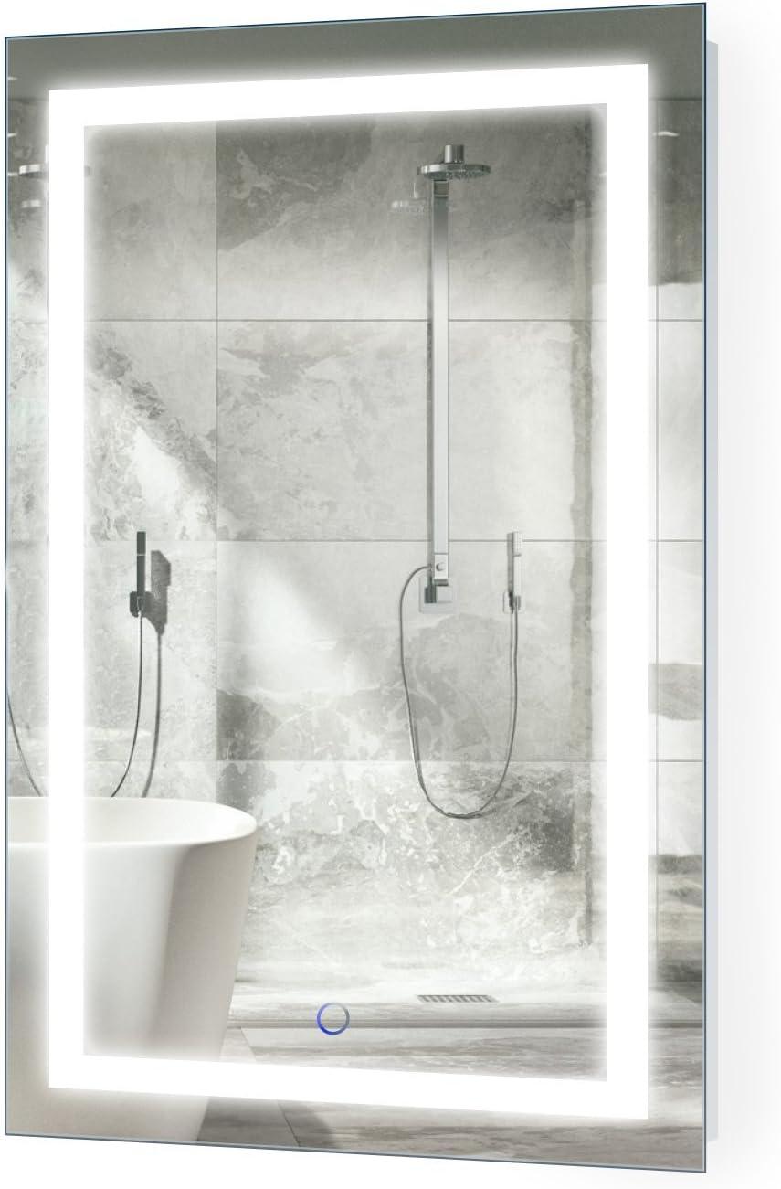 Salle de Bains ou Hangs Horizontale ou Verticale Color : Antique Gold, Size : 50 * 70cm Clean Grand Nordic Cadre carr/é Miroir Mural Chambre LYN Miroir Murale,Bathroom Mirror