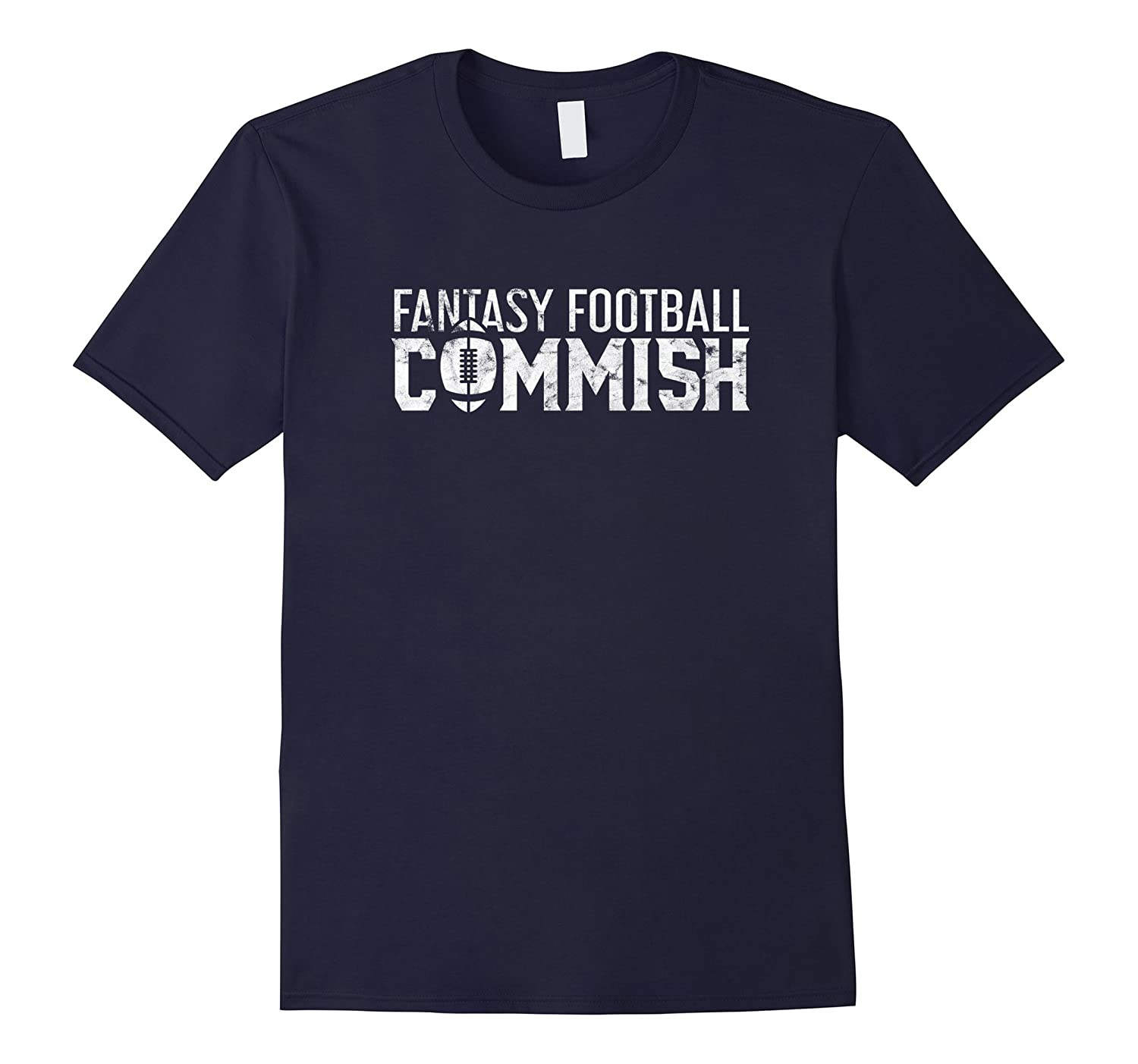 2017 Fantasy Football Commish T-Shirt for Men and Women-Art
