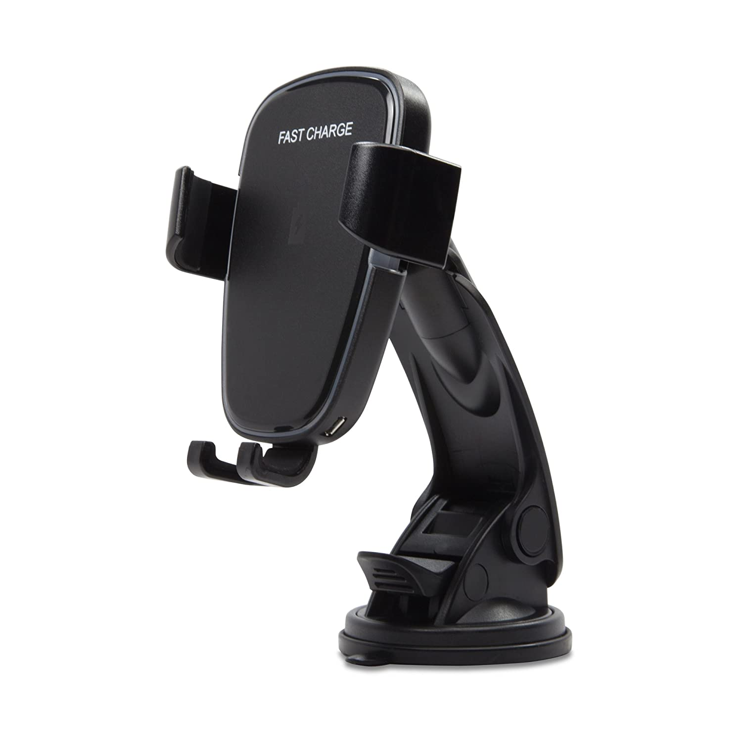 BoxWave Car Charger, for Smartphones and Tablets Universal Car Mount with Wireless Charging Jet Black BoxWave Corporation bw-1649-0-10966