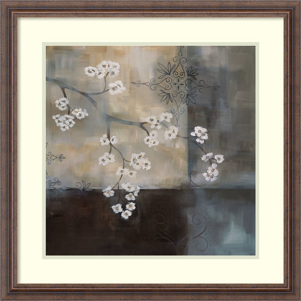 Framed Art Print 'Spa Blossom II' by Laurie Maitland