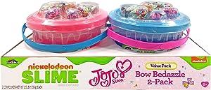 Nickelodeon JoJo Siwa Slime Bow Bedazzle 2-Pack Buckets
