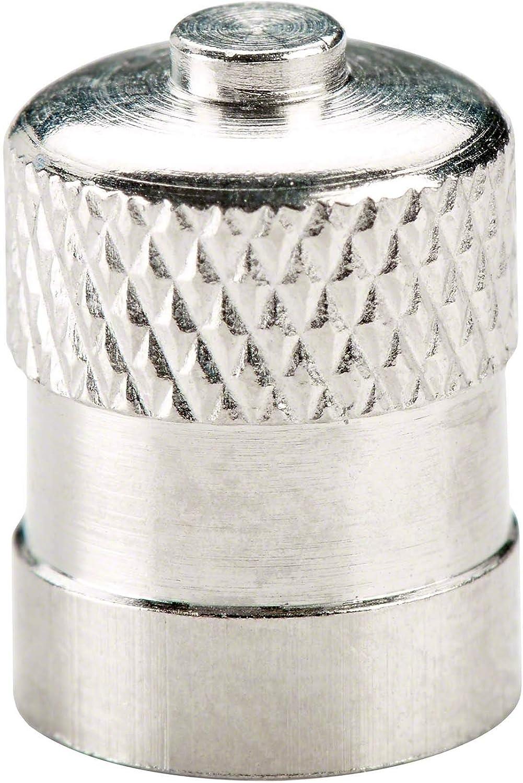 100x Auto Ventilkappen Metall Hofmann Power Weight Ventilkappe Autoreifen Reifenventilkappen Ventildeckeldichtung Baumarkt