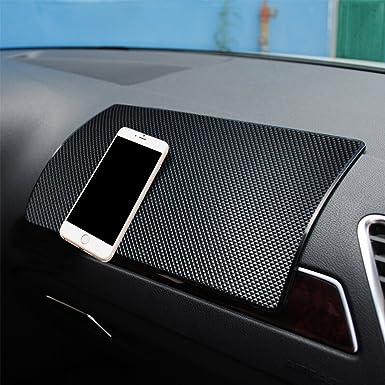 Magia antideslizante alfombrilla antideslizante coche salpicadero Dash Mat teléfono celular titular – capacidad para teléfonos móviles