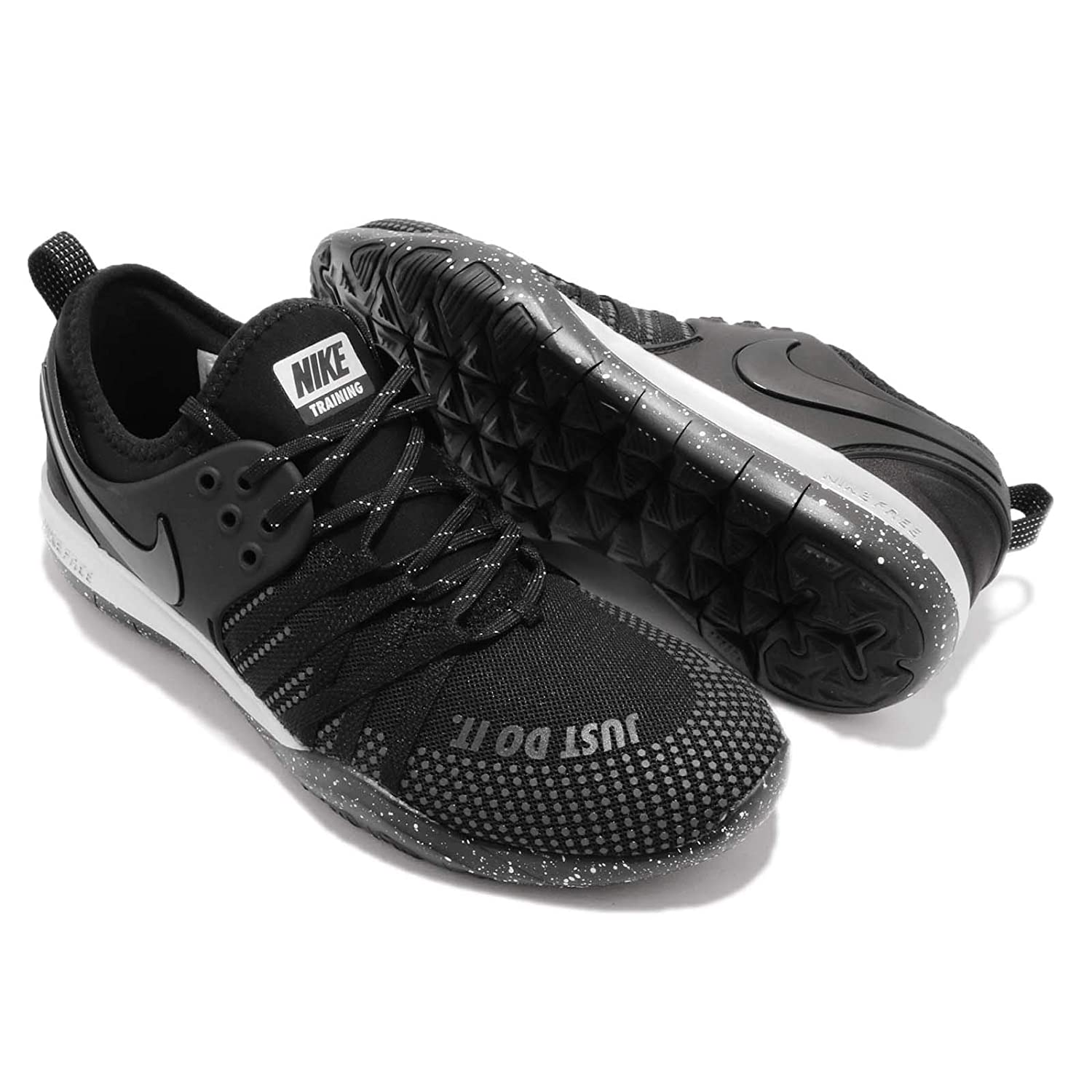 4c58d399f Nike Women's WMNS Free Tr 7 Selfie Fitness Shoes, Multicolour Black-Chrome  001, 9.5 UK: Amazon.co.uk: Shoes & Bags