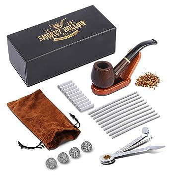 Amazon.com: Tubo de tabaco para tabaco elegante, fresco y ...