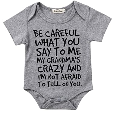 e45977c3b1c2 Charm Kingdom Baby Boy Girl Be Careful What You Say To Me My ...