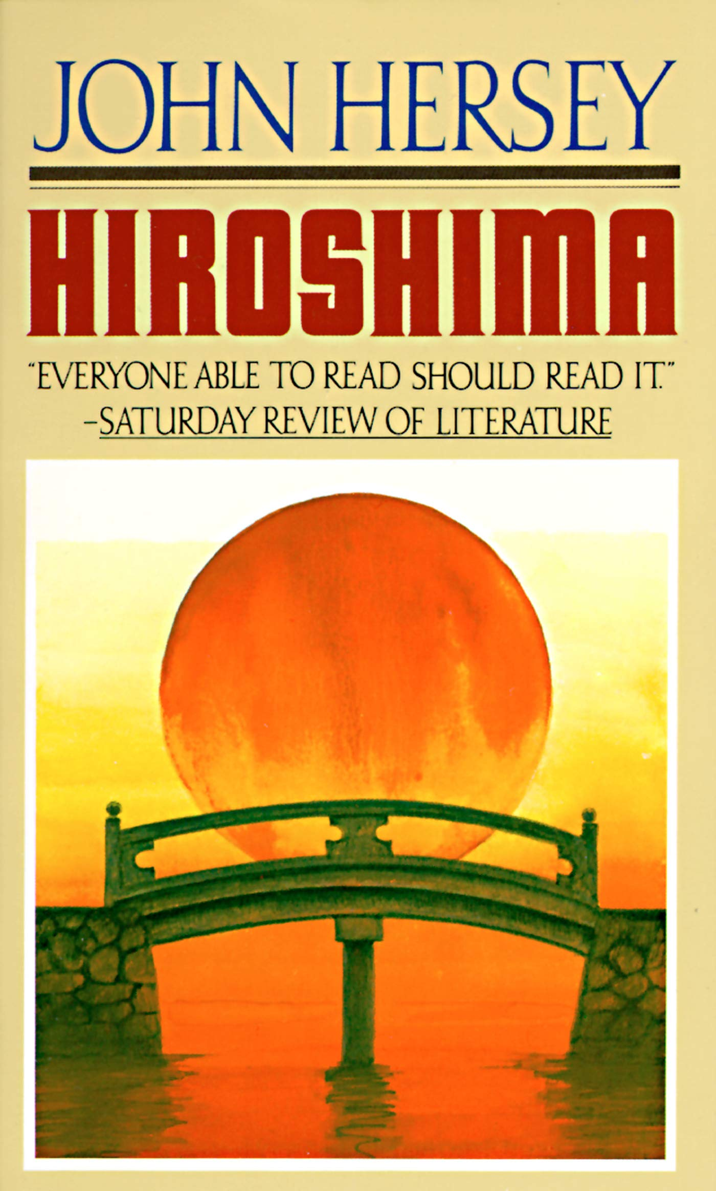 Hiroshima  English Edition