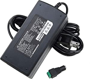 FAVOLCANO AC 100-240V to DC 12V 10A Converter Adapter Power Supply LED Driver Transformer 10A 120W Adapter, 12 Volt 10 Amp for 3528 5050 SMD LED Lamp Light Strip