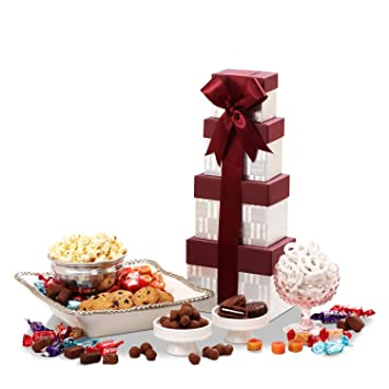 Image Unavailable Not Available For Color Broadway Basketeers Happy Birthday Celebration Wishes Gift Tower