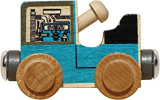 product image for Maple Landmark NameTrains Tractor - Made in USA (Blue)