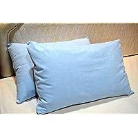 "Trance Home Linen Waterproof & Dustproof Pillow Protector-17 x 25"" (Sky Blue)"