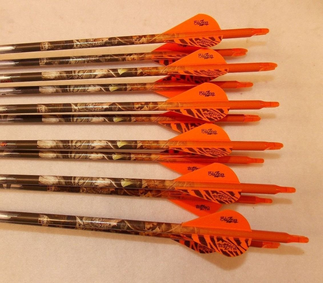 Easton ST Axis Full Metal Jacket Arrows 300/340/400/500 w/Blazer Vanes Pathfinder Wraps 1Dz. by ST Axis (Image #1)