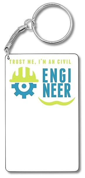 Trust Me Im An Civil Engineer Llavero Llavero: Amazon.es ...