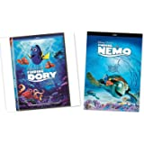 2 PACK - Finding Dory + Finding Nemo (DVD, 2016) Animation!
