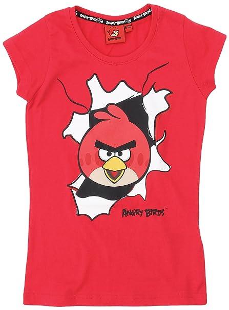 Birds MagliettaBambinaRossorougered8 Anni Birds MagliettaBambinaRossorougered8 Angry Angry Anni eEH9IbW2DY
