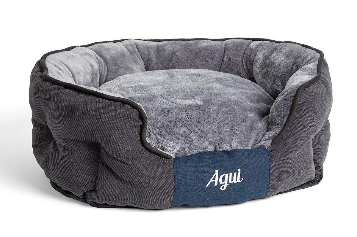 Agui AG10086 Nevada Bed for Pets, 80 x 65 cm, Grey