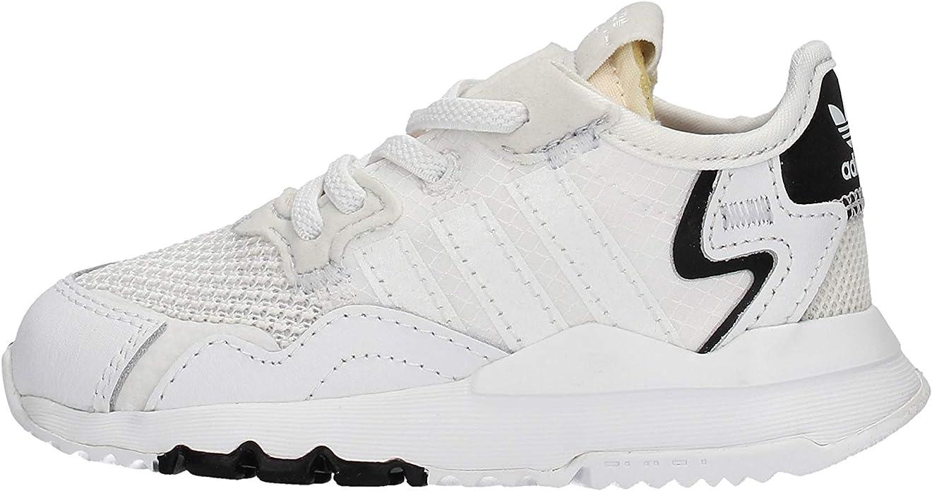 adidas Nite Jogger Zapatillas blancas para niño EE6479 Blanco ...