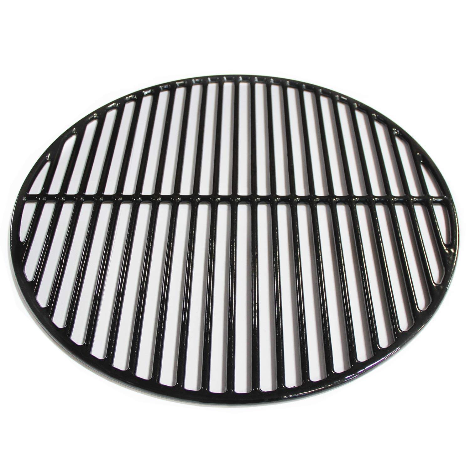 Hongso Porcelain Coated Cast Iron Cooking Grid Grates Replacement for Large Big Green Egg, Vision Grill VGKSS-CC2, B-11N1A1-Y2A, BGE, Accessories,Other Kamado Grill, 18.5'' Grill Grate PCI991