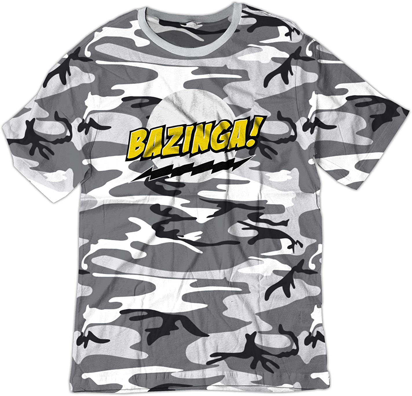 BSW Youth Bazinga! Big Bang Theory Sheldon Cooper Shirt 1388-1Y