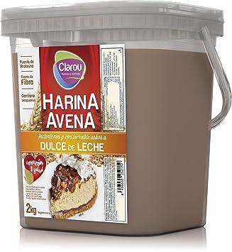 Harina de avena - 2Kg - Sabor Dulce de leche: Amazon.es: Deportes y aire libre