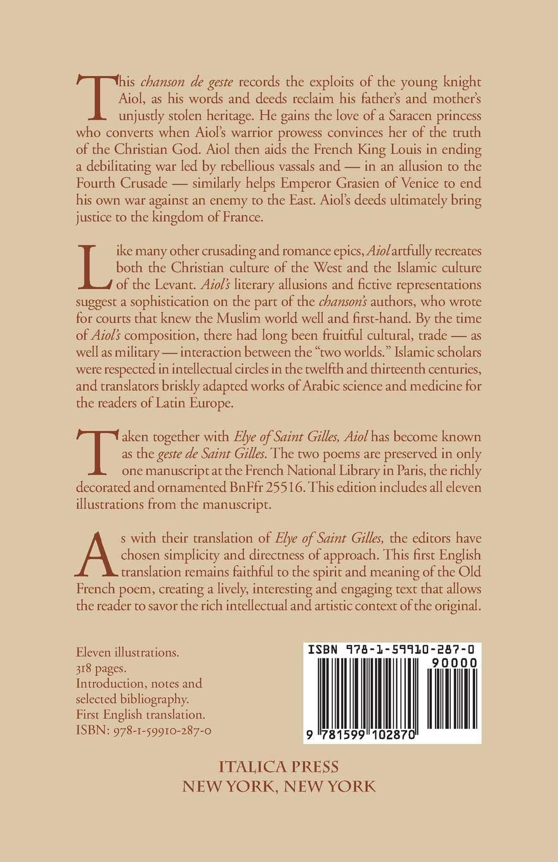 Aiol: A Chanson de Geste: First English Translation