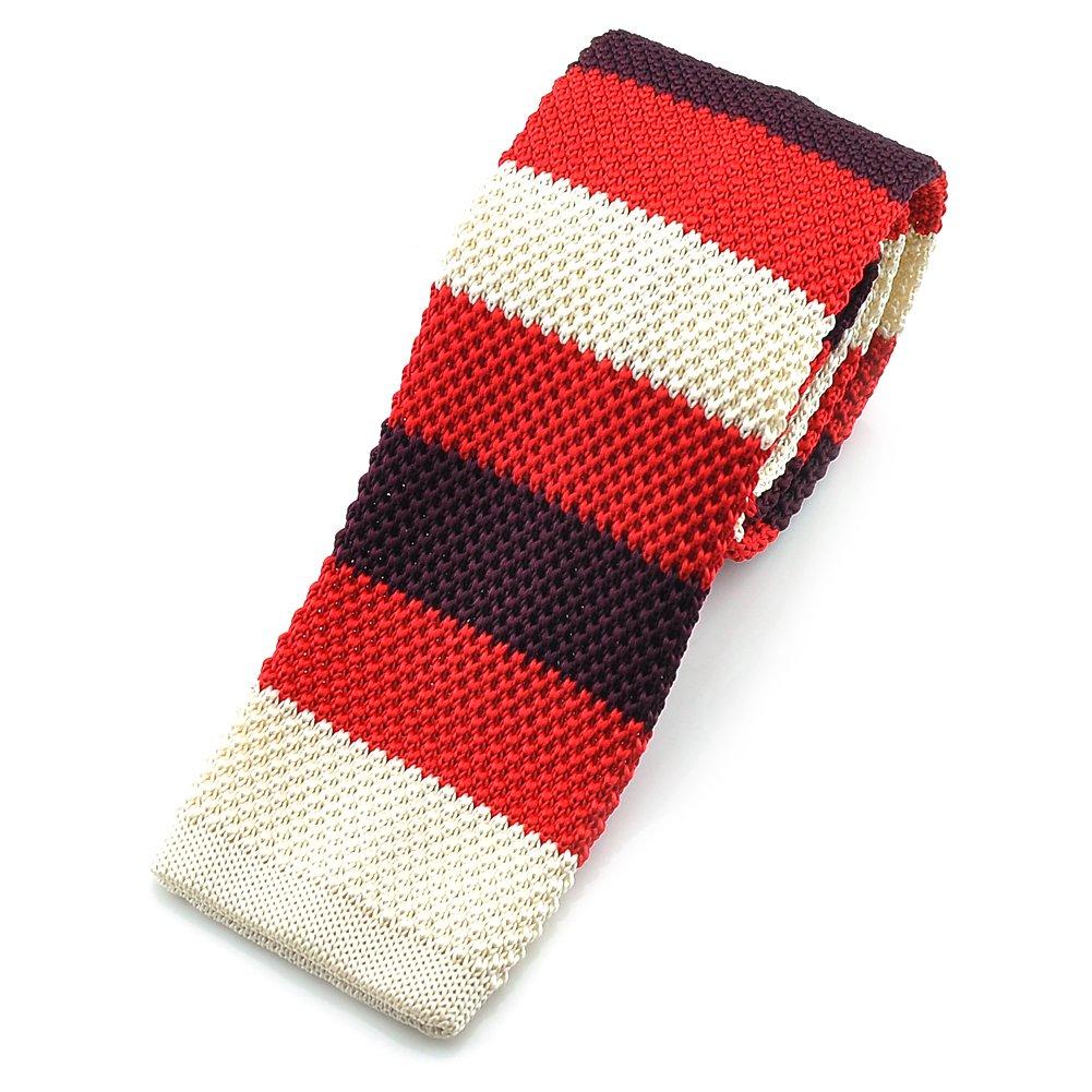 PenSee - Corbata de punto delgada para hombre, varios colores ...