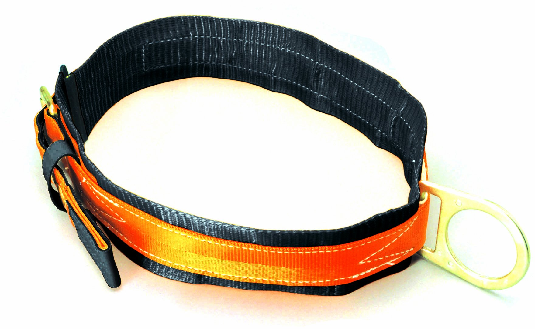Miller Titan by Honeywell T3310/MAF Tongue Buckle Body Belt with Single D-Ring and 3-Inch Back Pad, Medium by Honeywell (Image #1)