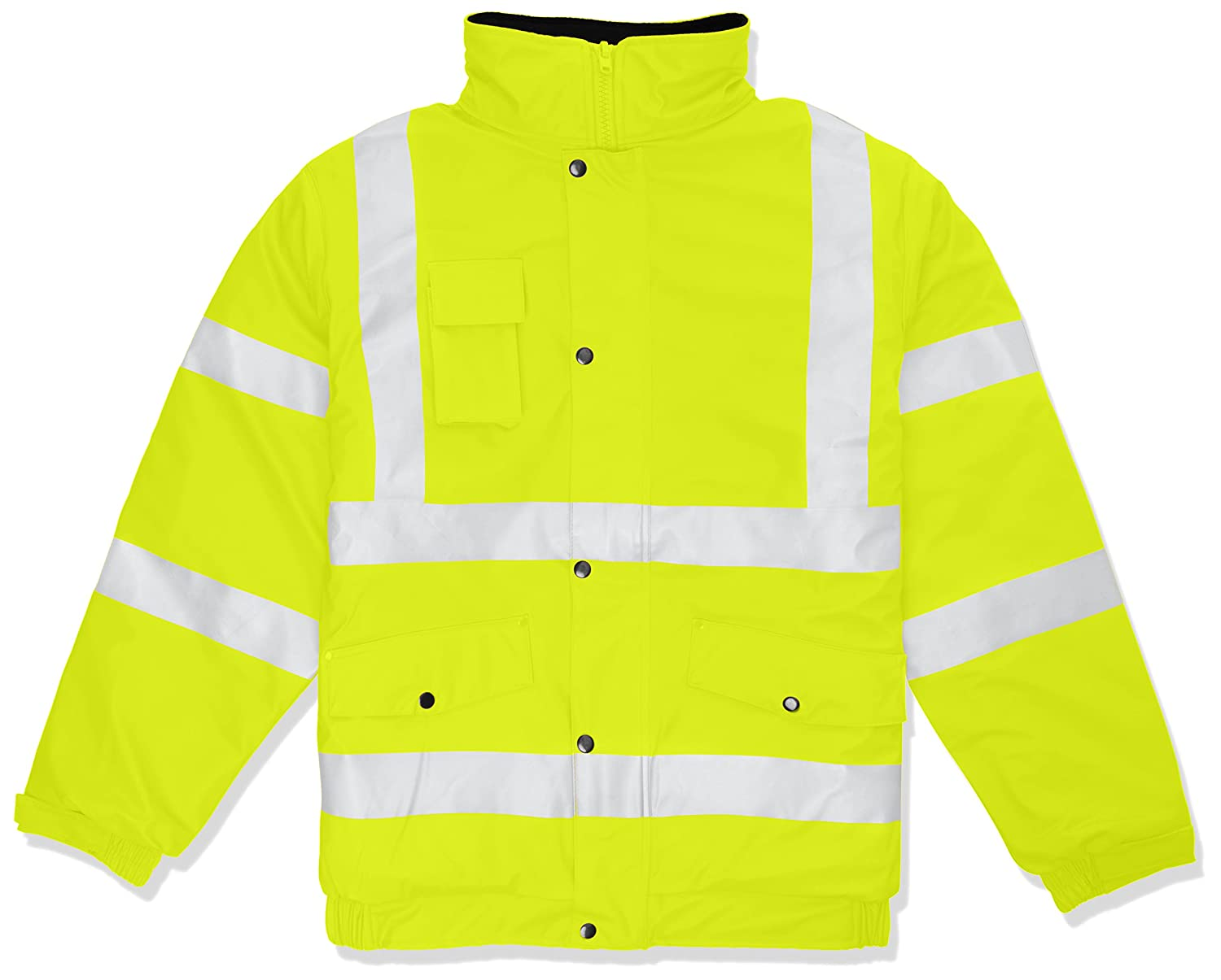 Supertouch 37241 PU Storm-Flex Bomber Jacket - Yellow