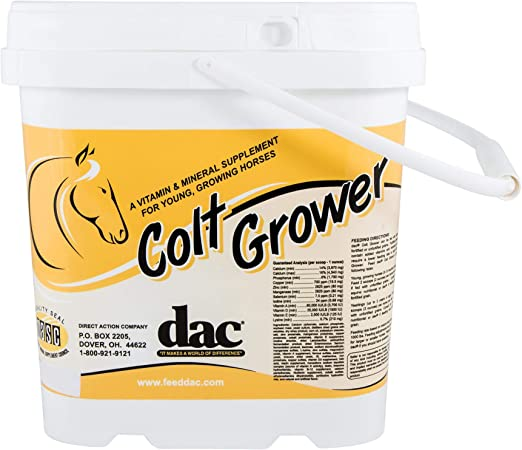 DAC Colt Grower 5 lb Young Growing Developing Maturing Nutrition Vitamin Mineral Supplement