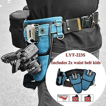 2 niños cámara cintura hebilla de cinturón Holster titular gancho ...