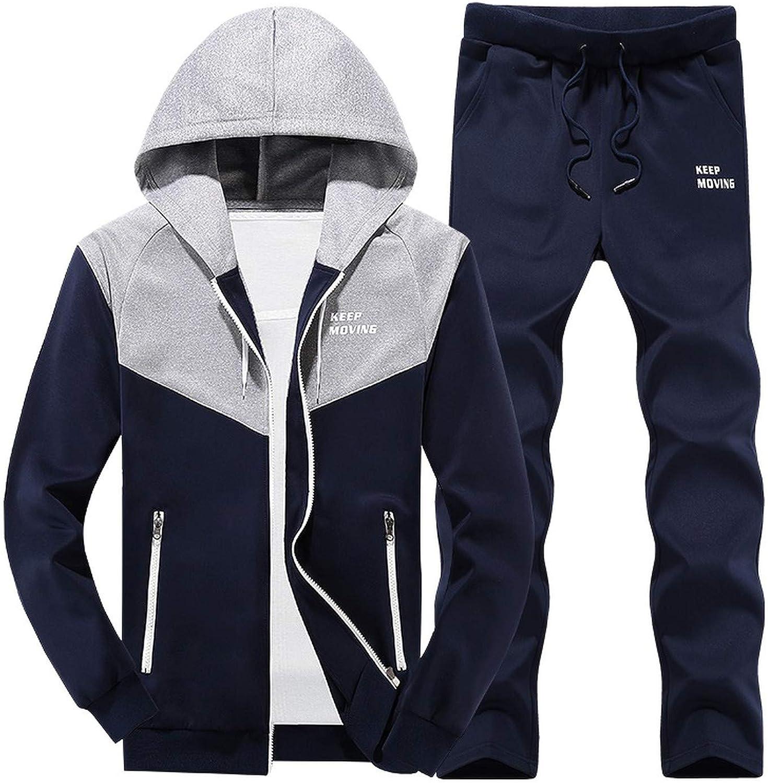 2019 New Mens Spring Jogger Sportswear Set Suit Men Track Suits