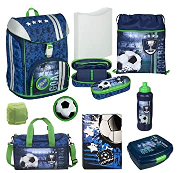 612ddc9e4cda5 Familando Fußball Schulranzen-Set Scooli FlexMax 9tlg. mit Sporttasche