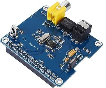 HIFI Digital Sound Card - TOOGOO(R)SC07 Raspberry Pi HIFI DiGi+ Digital Sound Card I2S SPDIF Optical Fiber for Raspberry pi 3 2 model B B+