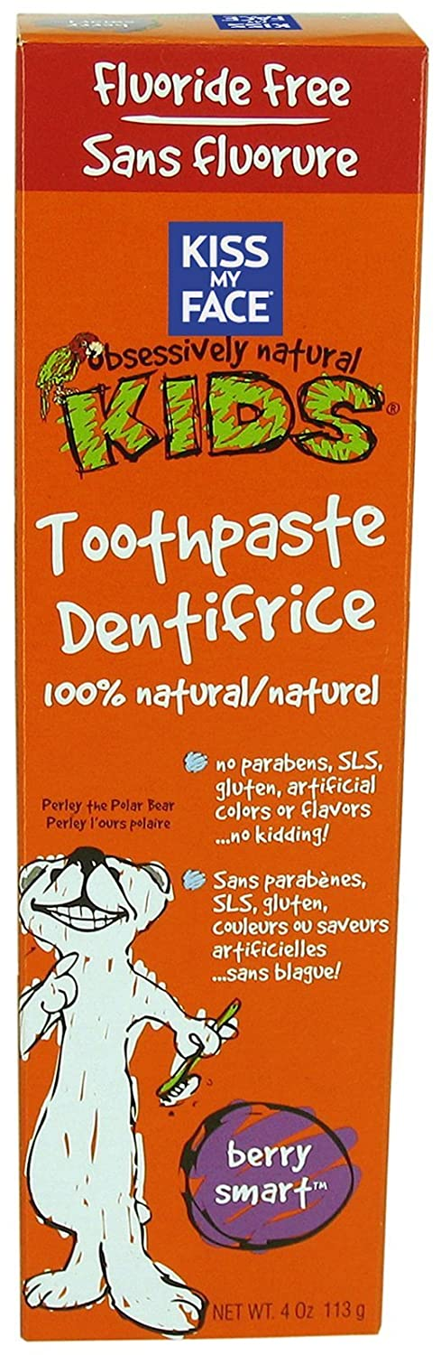 Kiss My Face Berry Smart Toothpaste 120 ml UNFI - Select Nutrition CE-189