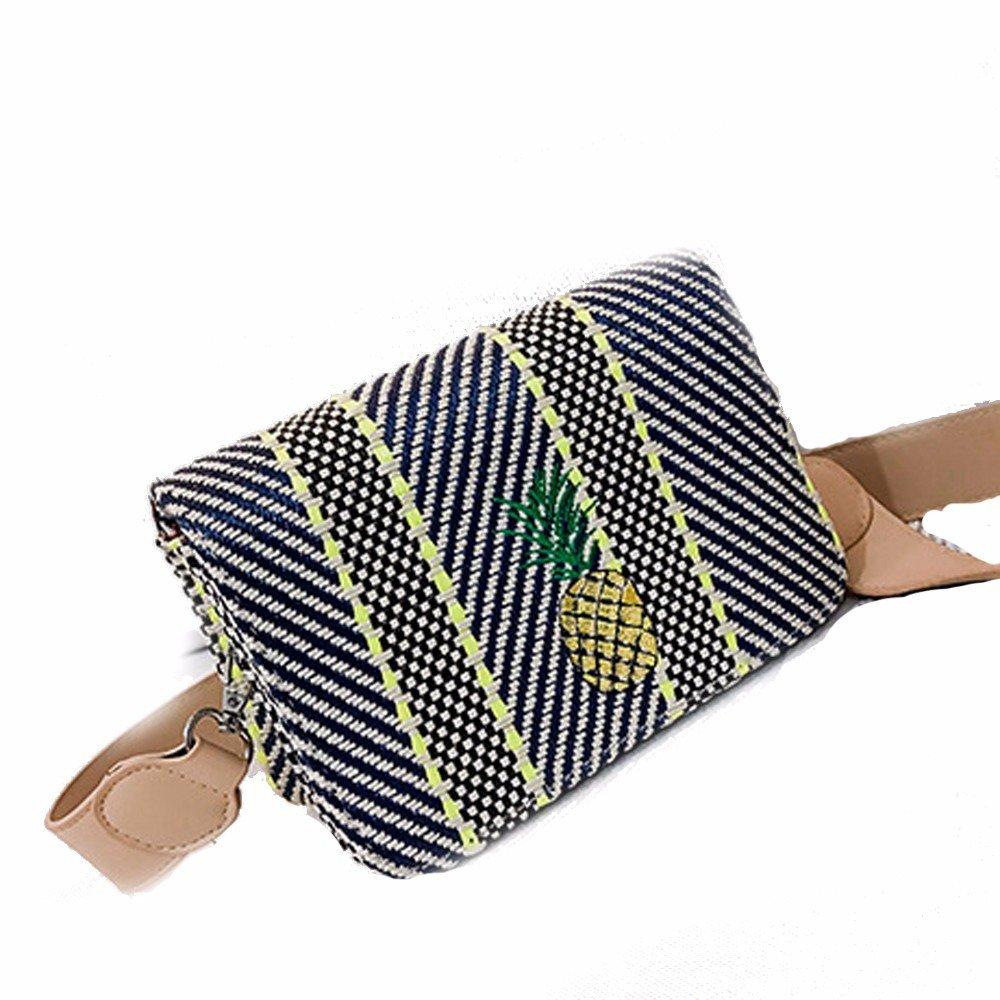 GTVERNH-der Frauen Mode Handtasche - All-Match Frauen - Handtasche Taschen Freizeit Stroh Gewebte Taschen einheitlichen Schulter Eimer Taschen Sommer Wilde damenhandtaschen 840a54