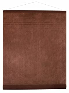 SANTEX 70071-14, Tenture de salle intissé de 8m, chocolat