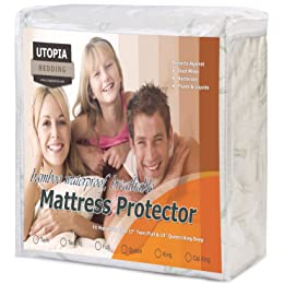 Bamboo Mattress Mattress Protector by Utopia Bedding
