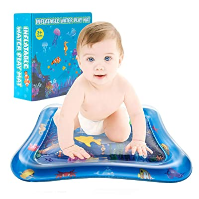 Water Play Mat, Inflatable Kids Mat Tummy Time Mat and Toddlers Child Development Accessory: Toys & Games