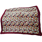Ab Home Decor Super-Soft-Microfibre-Heavy-Quilt-Razai for Winter- for Double Bed-Maroon