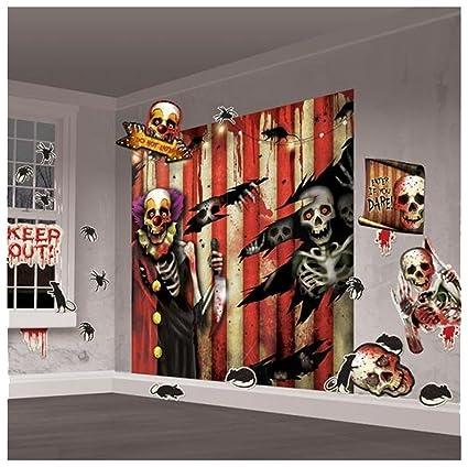 Amazon.com Pams Halloween Party Room Decor Creepy Carnival