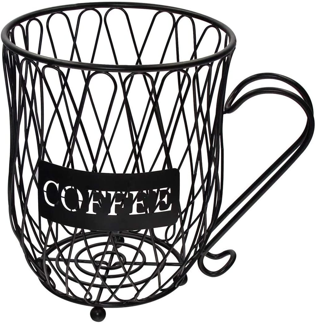 Coffee Pod Holder and Organizer Mug,Cup Keeper Coffee & Espresso Pod Holder, Coffee Mug Storage Basket