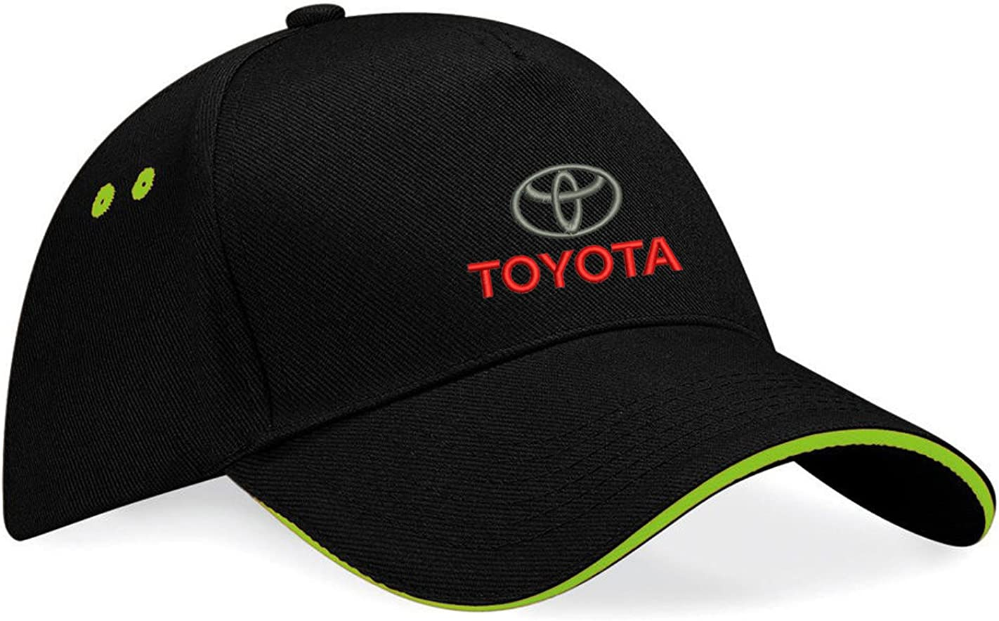 Inconnu Toyota Unisexe Adulte Caps Baseball R/églable Broderie Coton k097